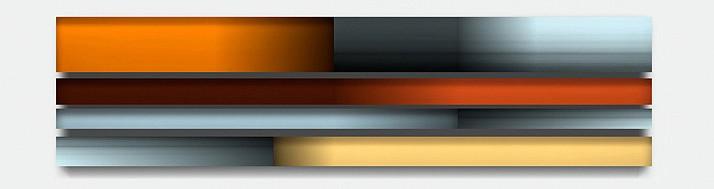 Freddy Chandra, Fleet 2012, Acrylic and resin on cast acrylic