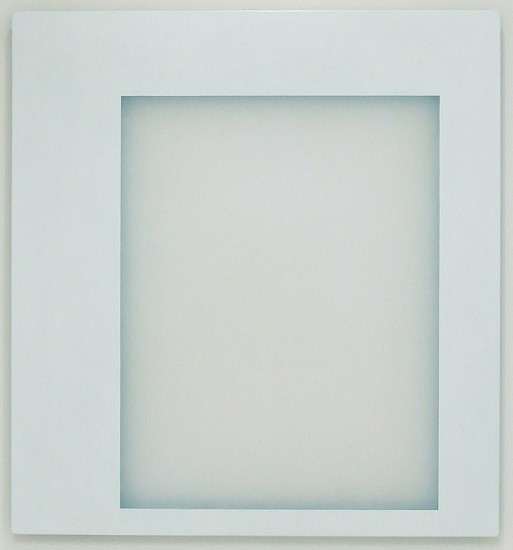 Kevin Finklea, White Room #9 2007, Acrylic on acrylic panel