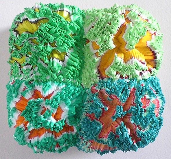Vadim Katznelson, Like Green Plants 2009, Polymer acrylic resin on canvas