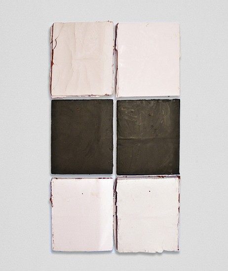 Nan Swid, NY 6 2013, Encaustic on mixed media