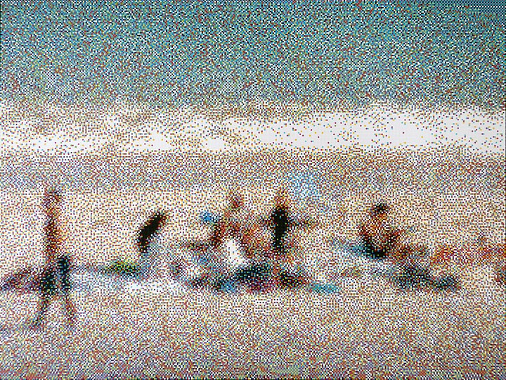 William Betts, Miami Beach January 2013 2013, Acrylic on canvas