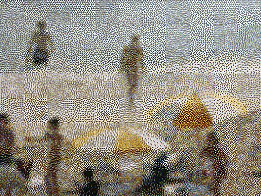 William Betts, Miami Beach, January 2013 I 2013, Acrylic on canvas