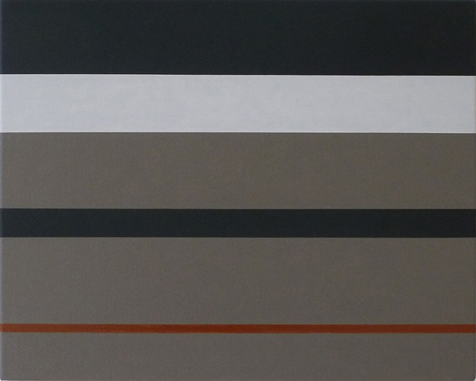 Frank Badur ,   #11-19  ,  2011     Oil and alkyd on canvas ,  16 x 20 inches (41 x 51 cm)