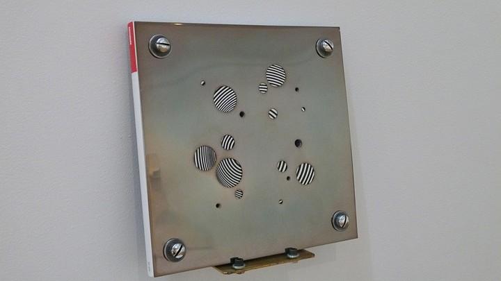 Richard Thatcher, Best of (May 2007) 2007, Drilled metal plates, artforum, machine screws
