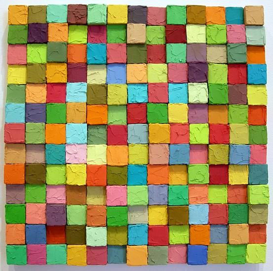Carlos Estrada-Vega, Don Silvestre 2005, Oleopasto, wax, pigment, oil & limestone on canvas