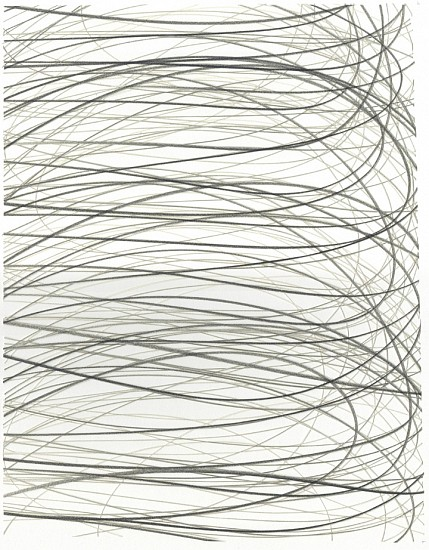 Adam Fowler, Untitled (3 Layers) 2012, Graphite on paper, hand cut