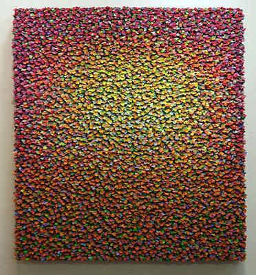 Robert Sagerman, 13,685 2011, Oil on canvas