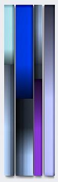 Freddy Chandra, Cascade 2011, Acrylic and resin on cast acrylic