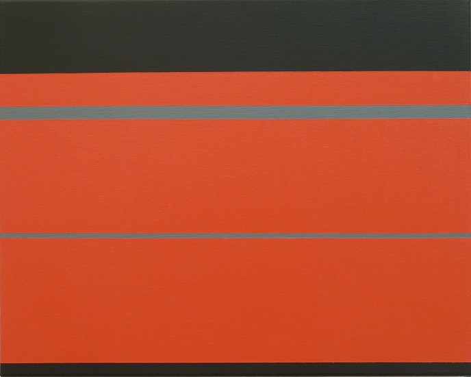Frank Badur, #11-01 2011, oil and pigment on canvas