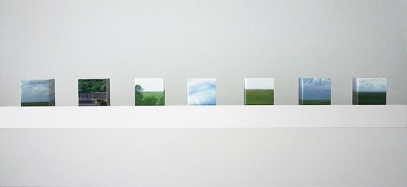 Maria Park, CN Set 3 2010, Acrylic on acrylite