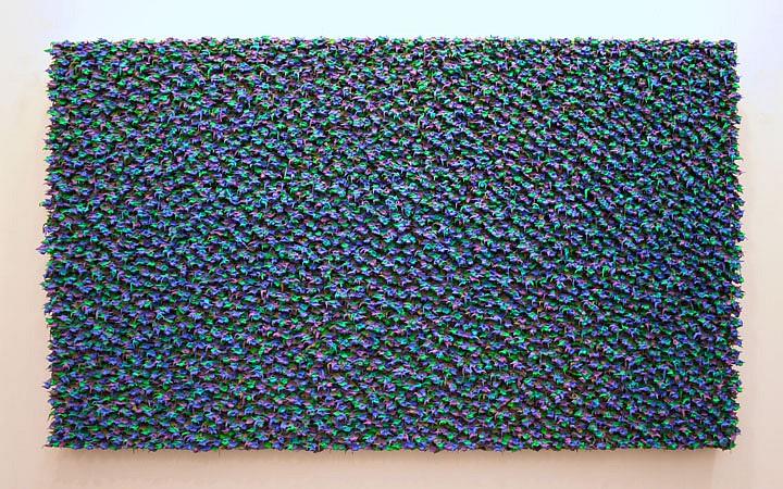 Robert Sagerman, 25,638 2009, Oil on canvas