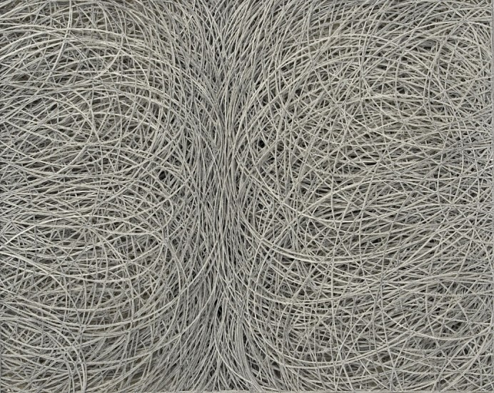 Adam Fowler, Untitled (50 layers) 2008, Graphite on paper, hand cut