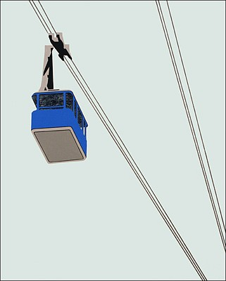 William Steiger, Cable Car-Blue 2008