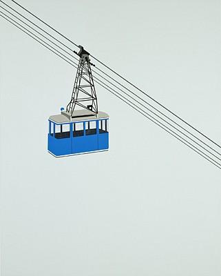 William Steiger, Aerial Tramway-Blue 2008