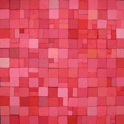 Carlos Estrada-Vega, Domatilia 2005, Oleopasto, wax, pigment, oil & limestone on canvas