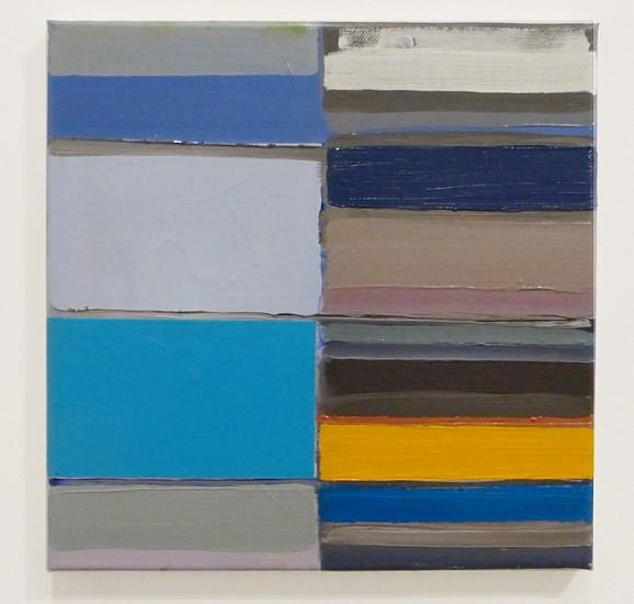 Tegene Kunbi, (UNTI) 2013, Oil on canvas