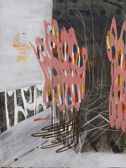 Clayton Colvin, Beneath Light and Shadow 2013, Acrylic, graphite, charcoal, conte crayon, and ink on Arches watercolor paper