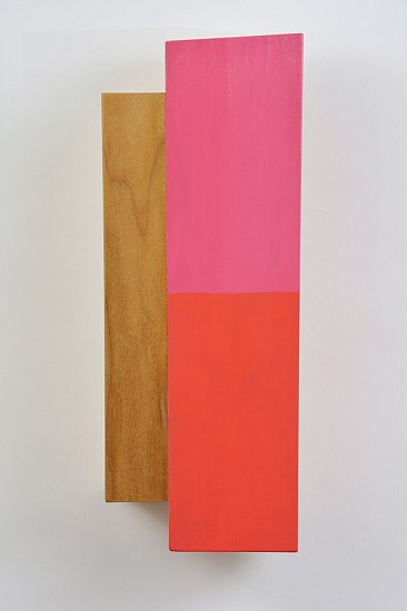 Kevin Finklea, Dominion 6 2014, Acrylic on laminated poplar on pine base