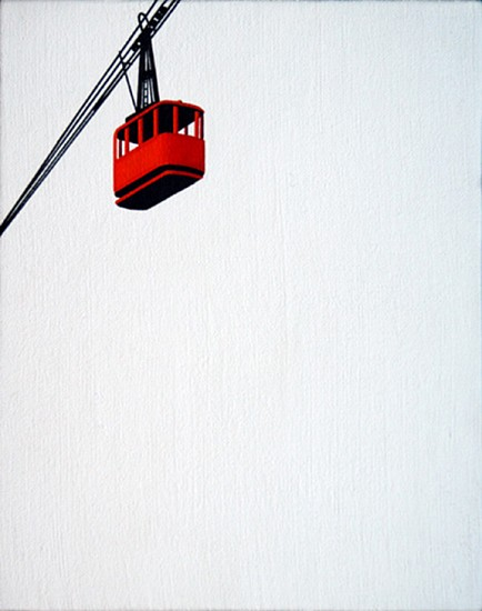 William Steiger, Cable Car 2 2004, Oil on linen