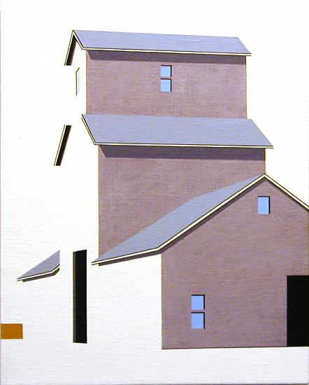 William Steiger, Elevator #14 2004, Oil on linen