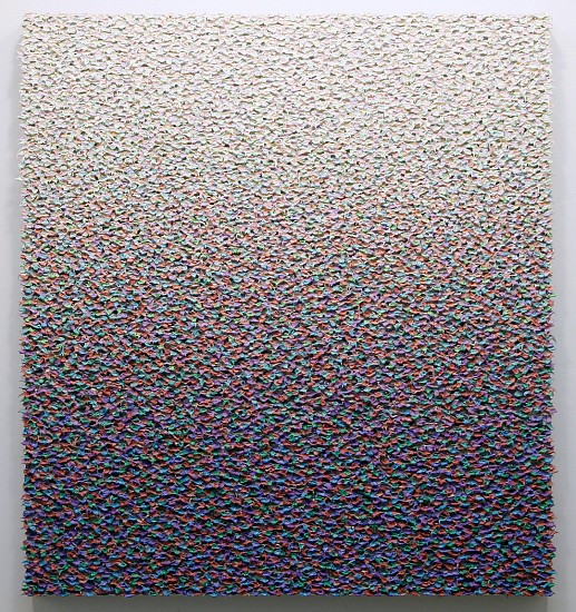 Robert Sagerman, 15,198 2014, Oil on linen