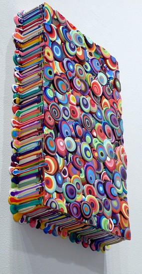 Omar Chacon, Bacanal Bacan Bacan 2010, Acrylic on canvas
