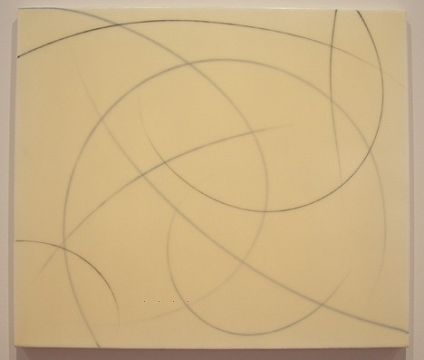 Jerome Powers, Untitled (022406) 2006, Elmer's glue, acrylic and graphite on canvas