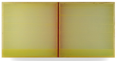 Heather Hutchinson, Daughter of Earth and Water 2005, Beeswax, pigment, Plexiglass, enamel and birch