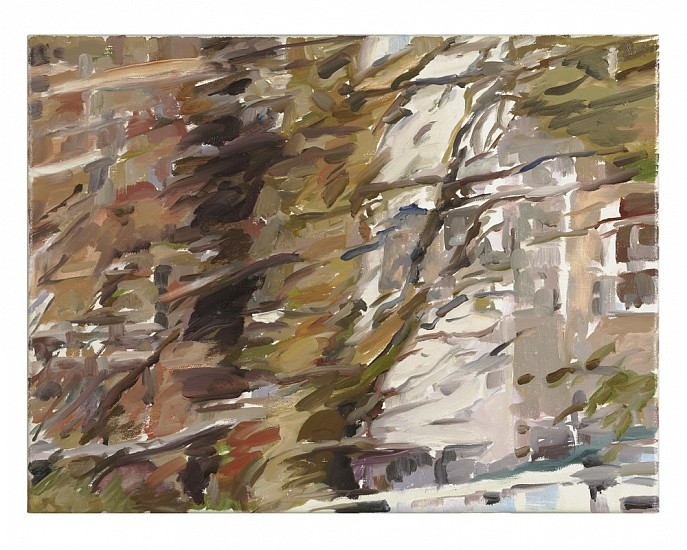 Monica Tap, Homer Watson Boulevard (flurry) 2007, Oil on canvas