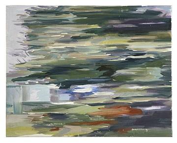 Monica Tap, Homer Watson Boulevard (fast spruce) 2007, Oil on canvas