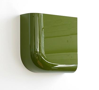 Bill Thompson, Quarter Round 2007, Acrylic urethane on epoxy