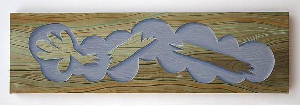 Broken Arm 2011, Casein on paper