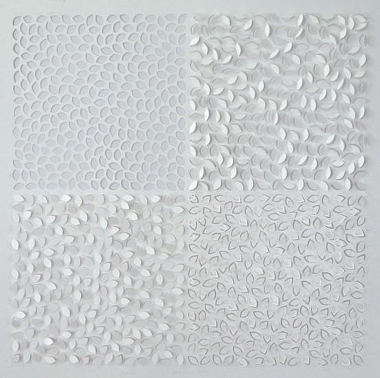 Jaq Belcher, Fixed Cross of Matter 2014, Hand-cut paper