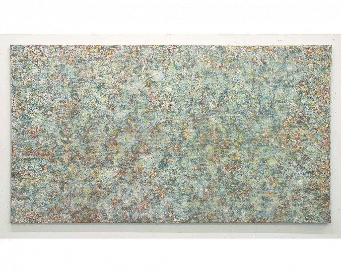 Rainer Gross, Impression 13 2014, Oil and pigments on canvas