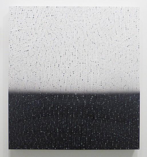 Teo González, Arch #1 2015, Acrylic on canvas