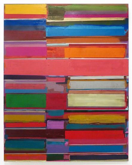 Tegene Kunbi, Ton Load 2015, Oil on canvas