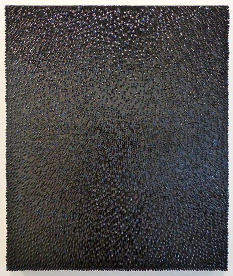 Omar Chacon, Variation de Mesalina Negra 2015, Acrylic on canvas