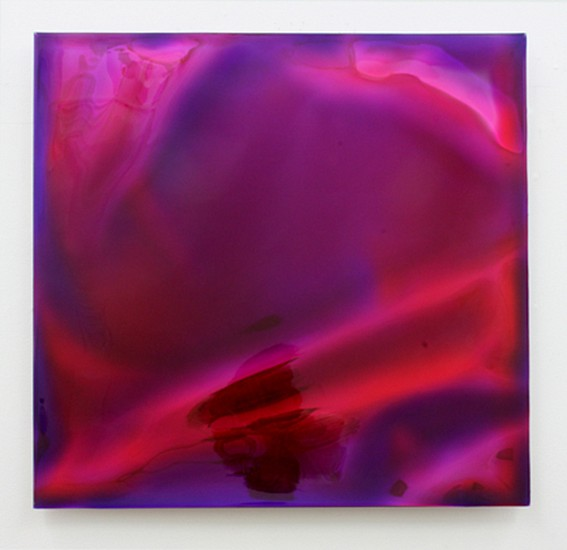 Cathy Choi, M1526 2015, Pigment and resin on Mylar, mounted on canvas