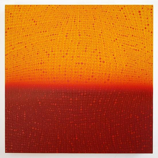 Teo González, Arch/Horizon Painting 1 2015, Acrylic on canvas