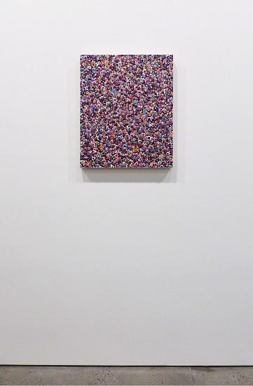 Omar Chacon, Bacanal Chinavita 2012, Acrylic on canvas