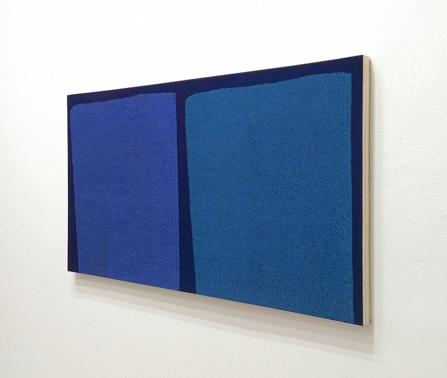 Robert Jack, A Non-Repeating Pair for Re-creation 2011, Casein on wood