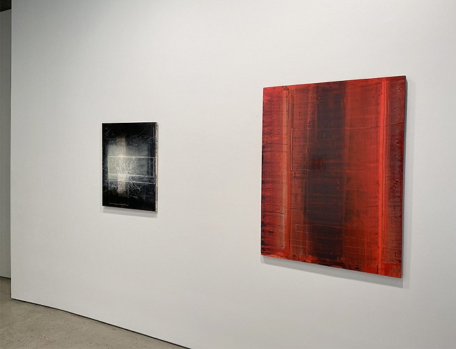 DAVID MANN : BEFORE OUR EYES - Installation View